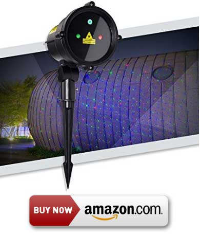 SROCKER Garden Laser Light