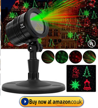 Tunnkit Christmas Waterproof Outdoor Light Projector